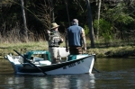 The Muskegon draws anglers from all over the region.