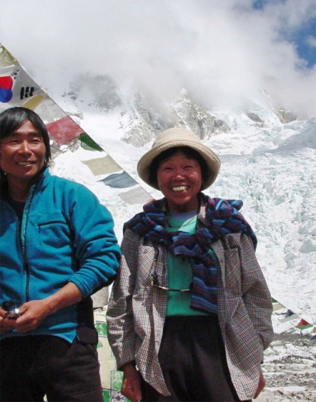73-year-old Japanese woman scales Mount Everest,breaks her own record - NY Daily News