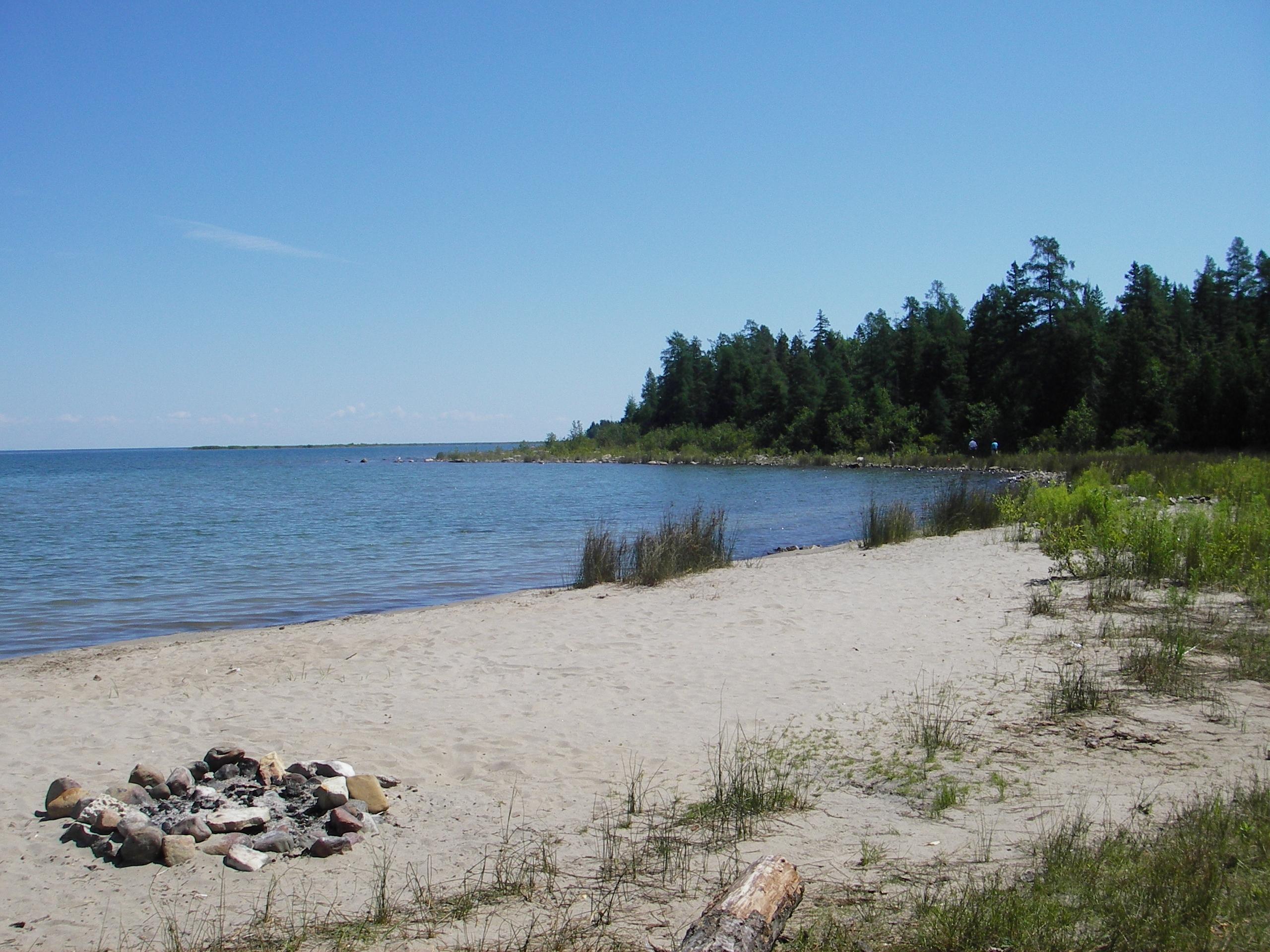 Drummond Island Camping