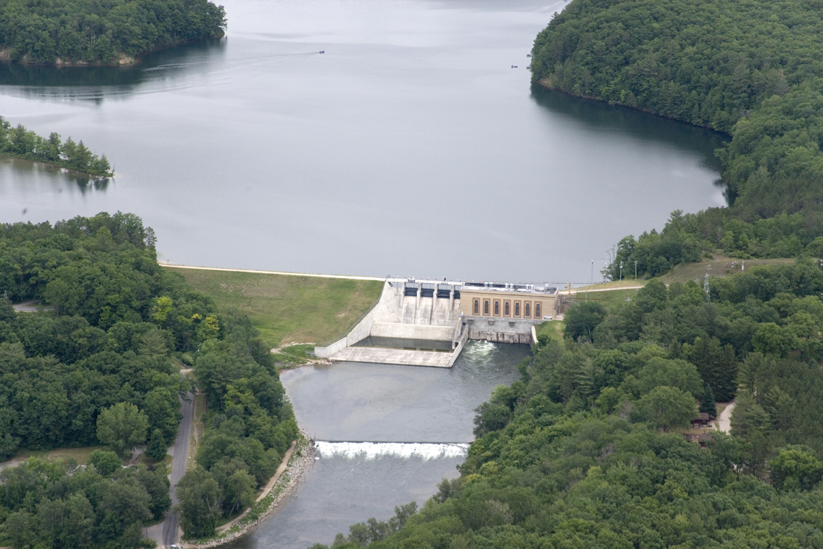 New tippy dam installation to cool river waters for trout for Tippy dam fishing