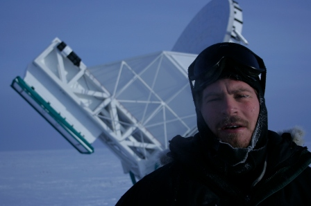 Keith Reimink outside at the South Pole. Courtesy photo.