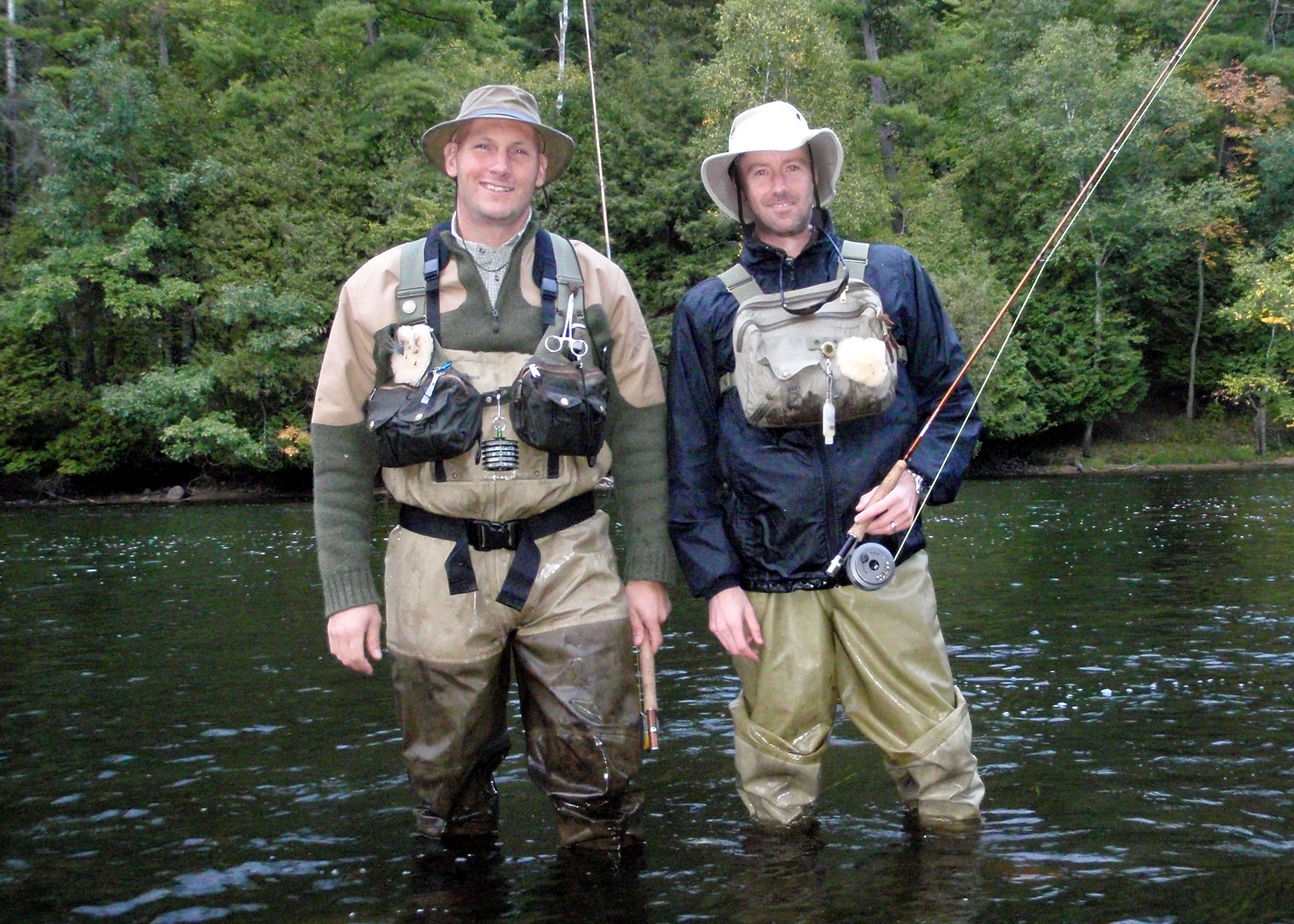 Holland anglers bring classic michigan flies to life for Fly fishing michigan