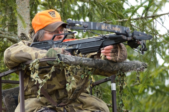 More hunters took to the woods with crossbows and had a higher success rate. Photo: Dave Kenyon, Michigan DNR.