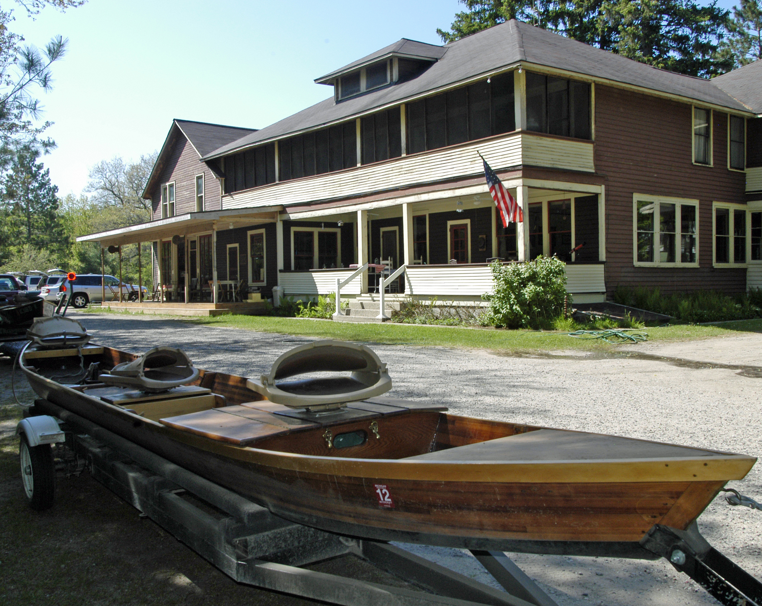 michigan trout fishing lodges full of character history