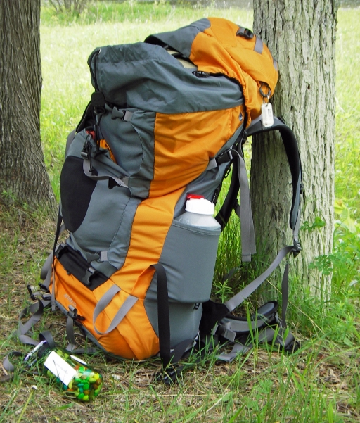 Internal frame packs are best where the terrain is uneven and its lower center of gravity helps with stability. Photo: Howard Meyerson
