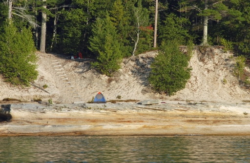 Camping and trails at Pictured Rocks National Lakeshore are not expected to be affected this year. Photo: Howard Meyerson
