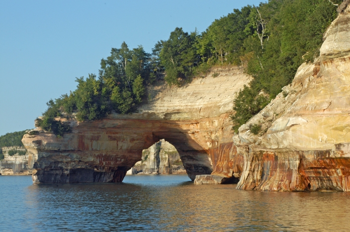 Pictured Rocks National Lakeshore will fare better than some national parks in Michigan as federal budget cuts take effect. Photo: Howard Meyerson