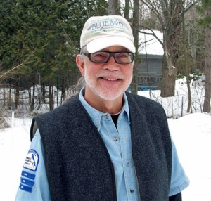 Tom Comfort is the Michigan Bluebird Society's Antrim, Charlevoix and Kalkaska County coordinator and a board member for the North American Bluebird Society. Photo: Tom Comfort