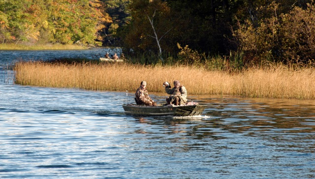 Wetland counts are up this year due to spring rains meaning better access for hunters. Photo: Howard Meyerson