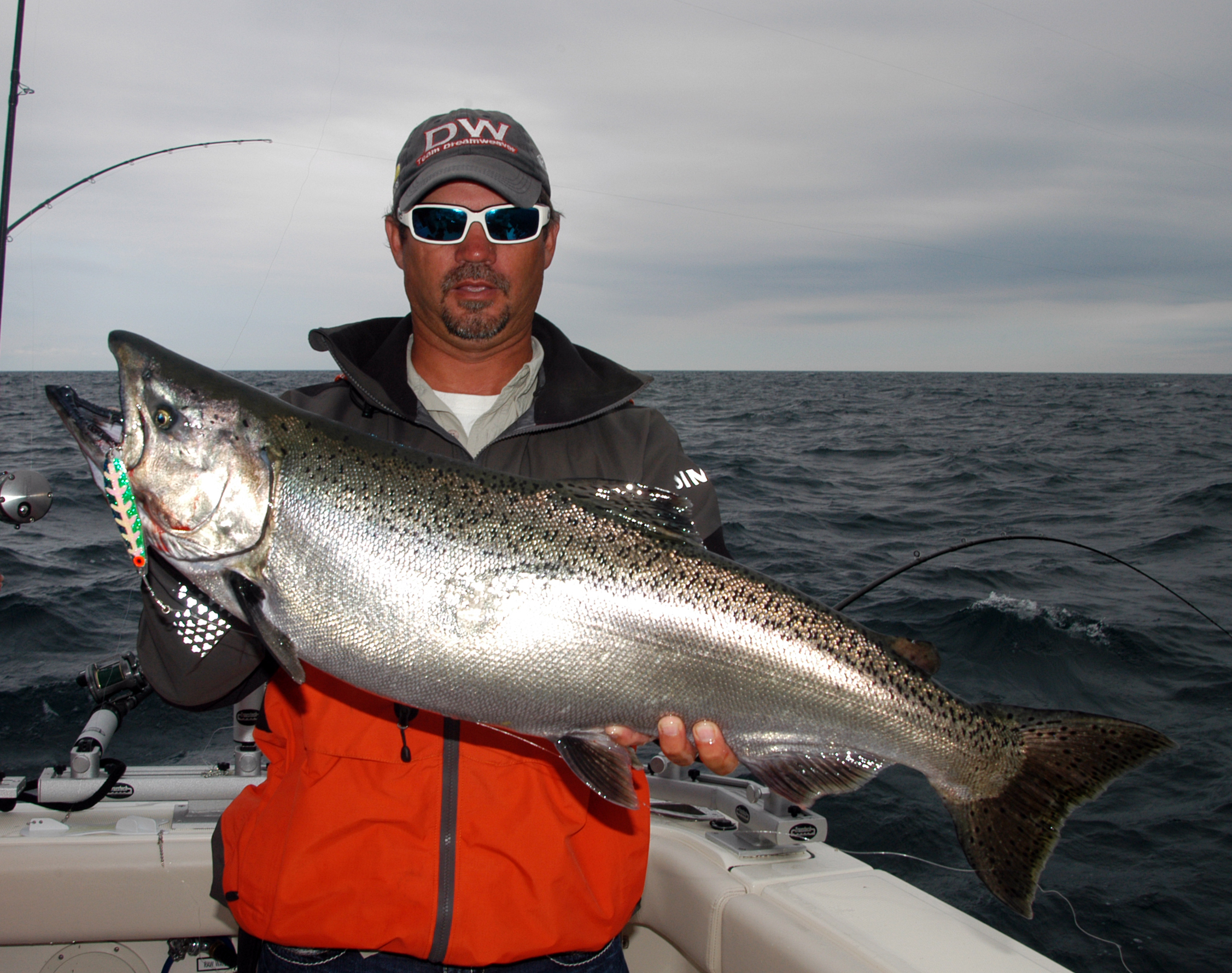 Salmon limit five fish a day in 14 the outdoor journal for Michigan fish limits