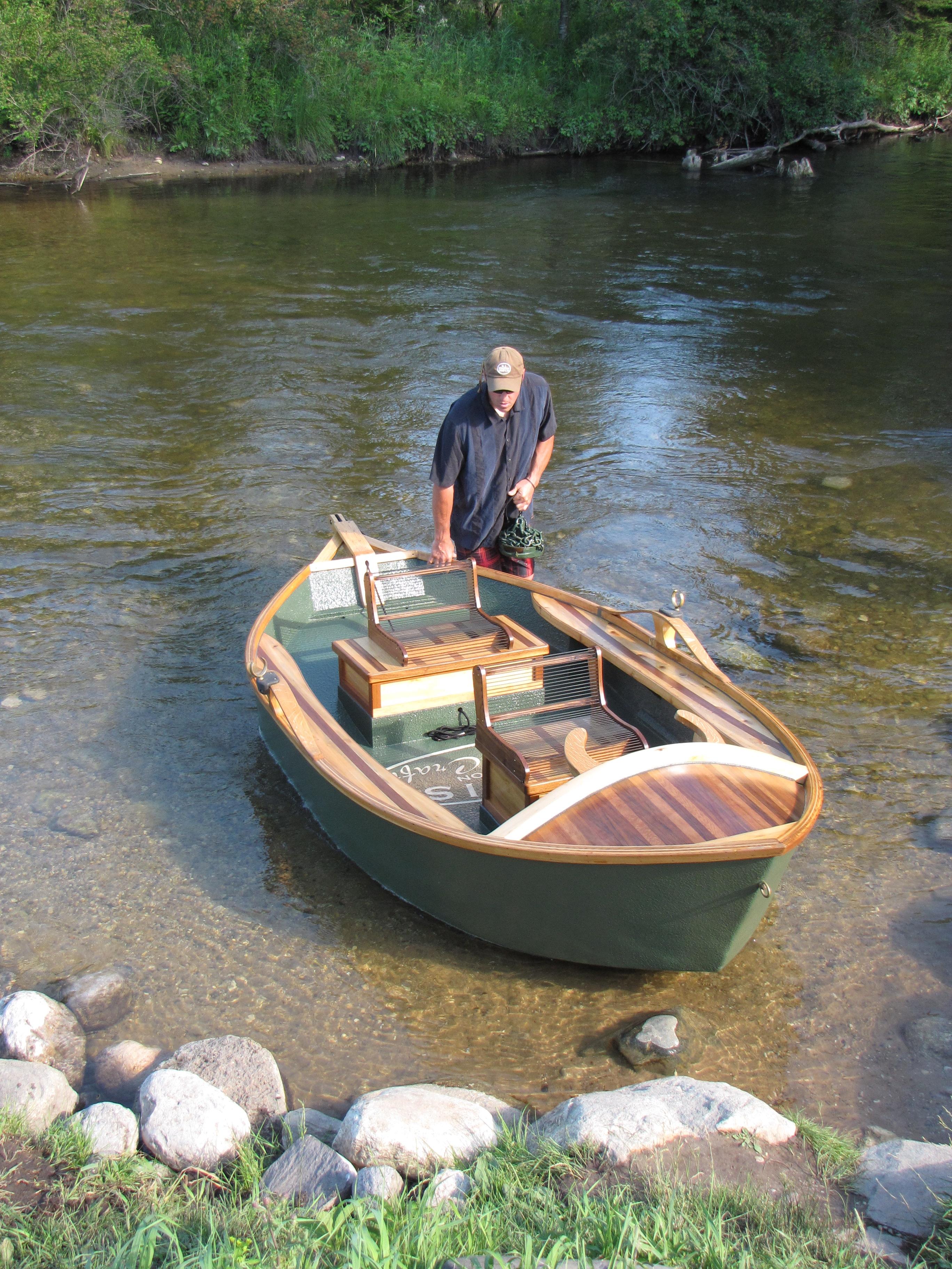 Michigan's Croff Craft Custom Driftboats; small boats with ...