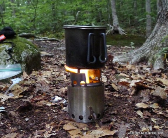 Section Hiker Gear of the Year Award: Solo Wood Stove | Section Hikers Backpacking Blog