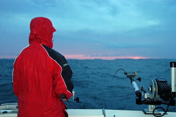 Lake Michigan is expected to be colder throughout the summer fishing season. Photo: Howard Meyerson.