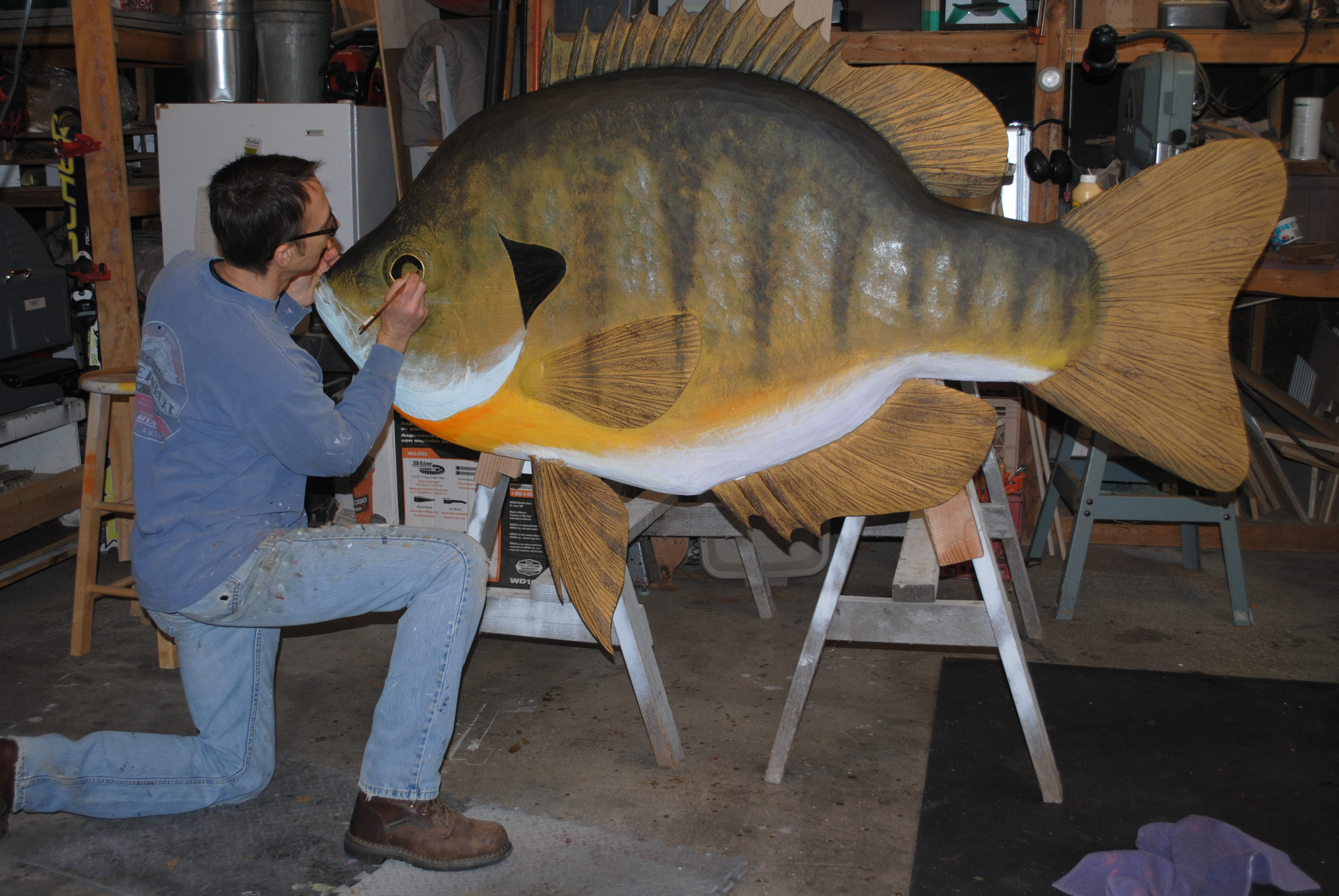 Wood Carving Fish Patterns Free