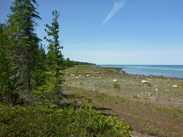 Thompson's Harbor State Park has miles of undeveloped Lake Huron shoreline. Photo: Howard Meyerson.