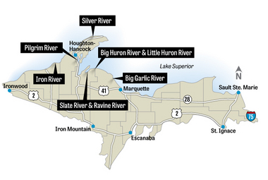 Regulations proposed to bring back michigan s coaster for Michigan fish size limits