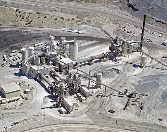 An aerial shot of Graymont's Pilot Peak project in Nevada. Photo: Graymont