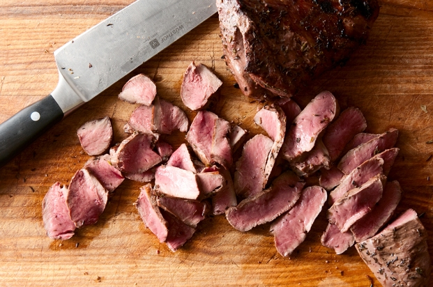 Grilled venison is a tasty way to handle backstrap. Photo: Holly Heyeser.