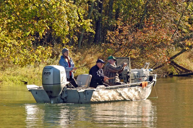 Weights are no longer required when entering fish in Michigan's Master Angler program. Photo: Howard Meyerson.