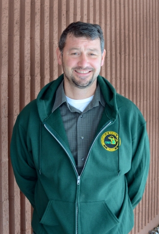 Kevin Swanson is the Michigan DNR's new large-carnivore will be based in the Upper Peninsula. Photo: Michigan DNR.