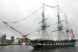 The U.S.S. Constitution is the oldest ship in the U.S. Navy.