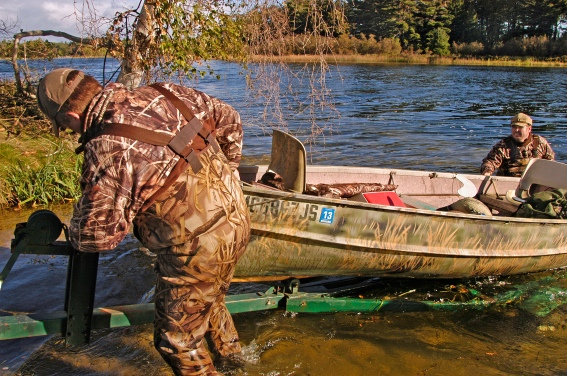 Waterfowl hunters will be accessing waters all over the state looking for an opportunity to hunt waterfowl when the seasons open. Photo: Howard Meyerson