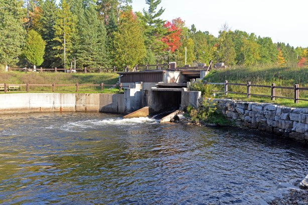 The Song of the Morning dam was opened permanently in 2014. The dam structure will come out this year, widening the river channel at the dam site. Photo by Howard Meyerson.