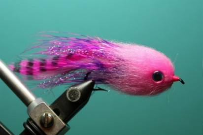Chris Soule's Pink Baby Doll. A new pattern intended for salmon and steelhead. (Courtesy Photo)
